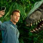 VertelOver.nl recensies voor en door jou! Jurassic World Fallen Kingdom review: chris pratt selfie met dino