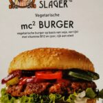 Vegetarische Slager MC2 burger, hamburger, vegetarisch